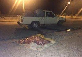 """<p>Autoridades decomisaron 400 libras de Pez Vela en Palín, Escuintla, cuando eran trasladadas en tres vehículos. (Foto Prensa Libre: Enrique Paredes)<br _mce_bogus=""""1""""></p>"""