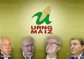 Los comandantes de la URNG que negociaron la firma de la paz. (Foto: Hemeroteca PL)