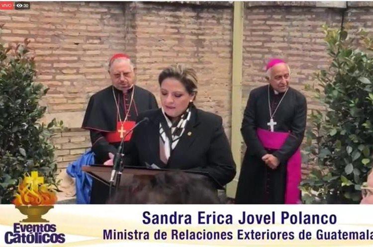 Guatemala tiene su Patrona en los Jardines Vaticanos