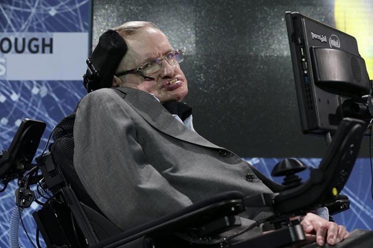 Stephen Hawking anuncia un plan para enviar sondas espaciales a las estrellas. (Foto Prensa Libre: EFE).