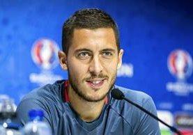 Hazard es la figura de la Selección belga, que busca trascender en la Eurocopa 2016. (Foto Prensa Libre: EFE)