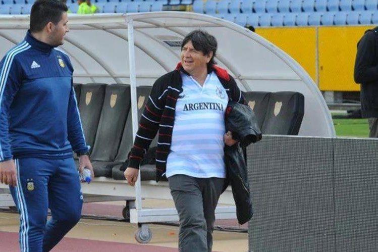 Según la prensa argentina se ocudió con Manuel, el supuesto brujo que busca ayudar a la selección. (Foto redes).