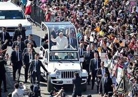 Mensajes esperanzadores ofreció el Pontífice.
