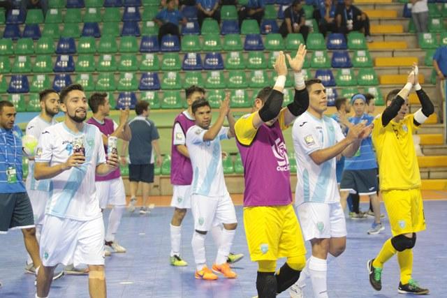 Después de asegurar el boleto al mundial, la selección de Guatemala el título en Concacaf. (Foto Prensa Libre: Norvin Mendoza).