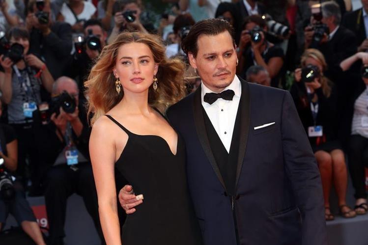 Heard y Depp se casaron en febrero del 2015, tras tres años de salir juntos. (Foto Prensa Libre: Popsugar).