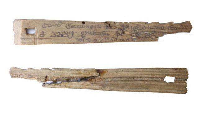 """Los palos tenían dos partes: el """"foil"""" y el """"stock"""". WINCHESTER CITY COUNCIL MUSEUMS"""