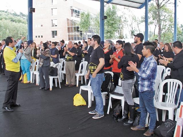 Cientos de jóvenes participan desde ayer en el primer festival de emprendedores Héroes Fest.