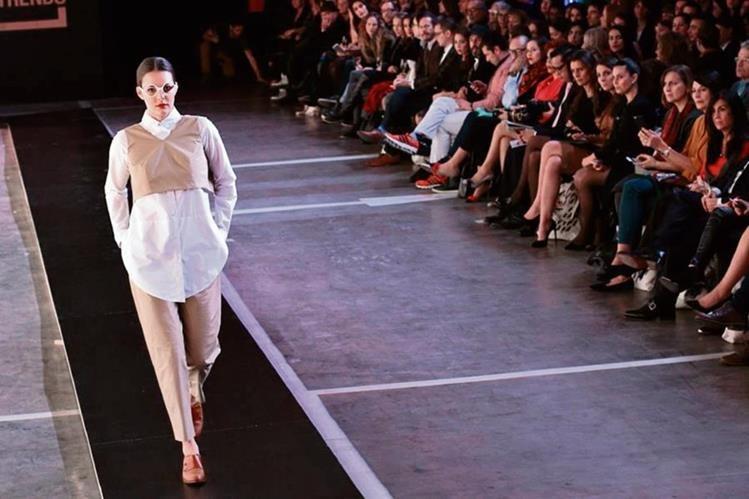 la sofisticación de las prendas destacó en las creaciones de diseñadores latinoamericanos, que sorprendieron en el desfile Latin Trends.