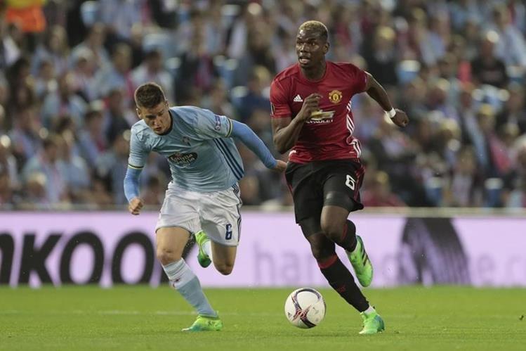 La Fifa investigará el fichaje del francés Paul Pogba con el Mánchester United. (Foto Prensa Libre: AP)