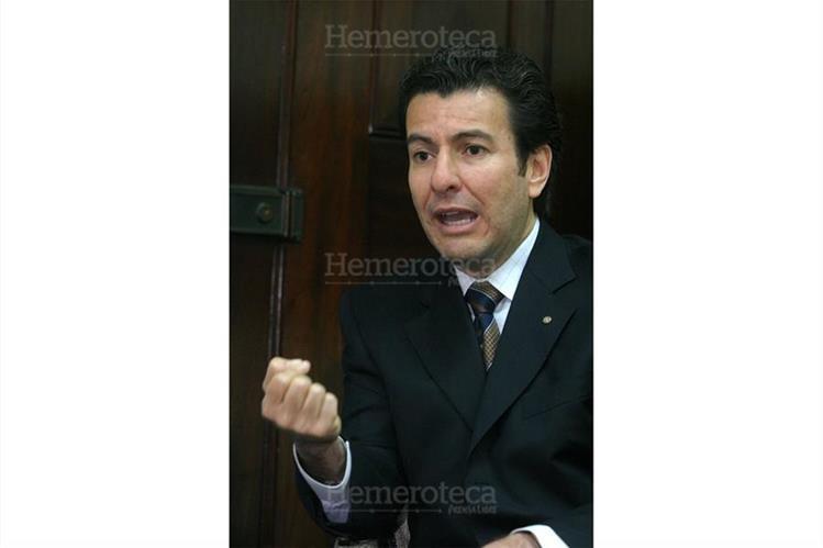 Jorge Méndez Herbruger, presidente del Congreso en el 2006. (Foto: Hemeroteca PL)