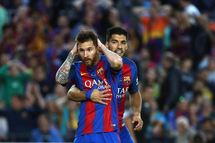 Messi fue hallado culpable de fraude fiscal en España. (Foto Prensa Libre: EFE)