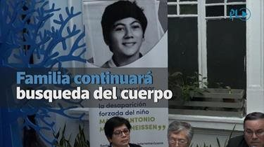 Caso Molina Theissen | Familia continuará búsqueda de Marco Antonio