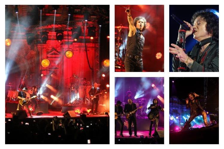 Enrique Bunbury cautivó a miles de seguidores durante un concierto en Antigua Guatemala. (Foto Prensa Libre: Keneth Cruz)