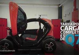 La tecnología de los autos eléctricos permite que los usuarios utilicen la energía eléctrica con el fin de hacer más eficiente su uso. (Foto Prensa Libre: Álvaro González)