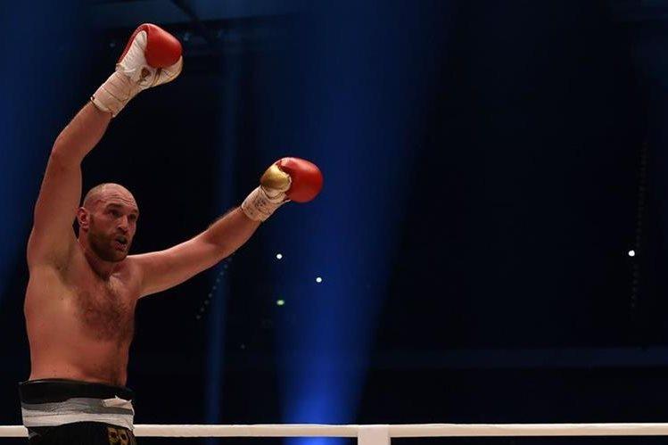 El boxeador británico Tyson Fury ha admitido el uso de cocaína y confesó su deseo de ya no querer vivir. (Foto Prensa Libre: AFP)