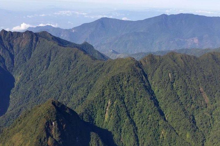 La Sierra de las Minas abarca parte de las Verapaces, El Progreso, Zacapa, e Izabal. (Foto HemerotecaPL)