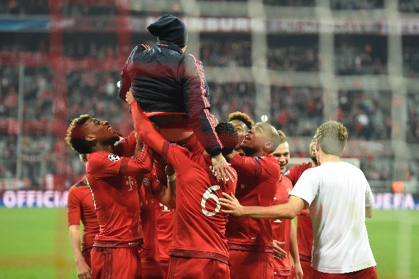 El equipo de Pep Guardiola regresa a la Bundesliga, con la motivación a tope. (Foto Prensa Libre: AFP)