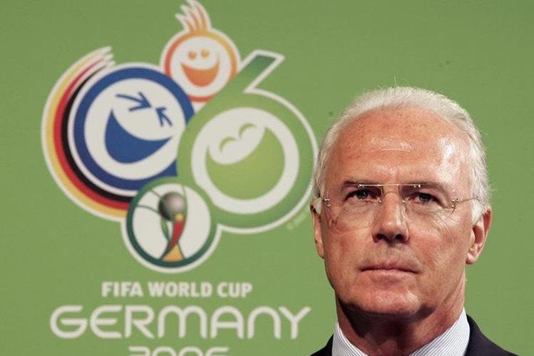 Beckenbauer afirma que el mundial de Alemania 2006 no se compraron votos para obtener la sede. (Foto Prensa Libre: Hemeroteca PL)