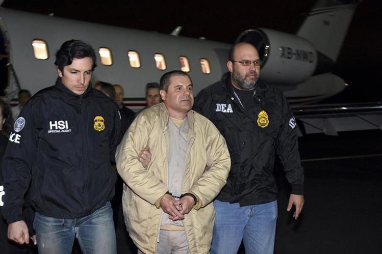 El Chapo enfrenta proceso en Estados Unidos. (Foto Prensa Libre: AP)