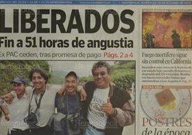 Portada del 29 de octubre de 2003. (Foto: Hemeroteca PL)
