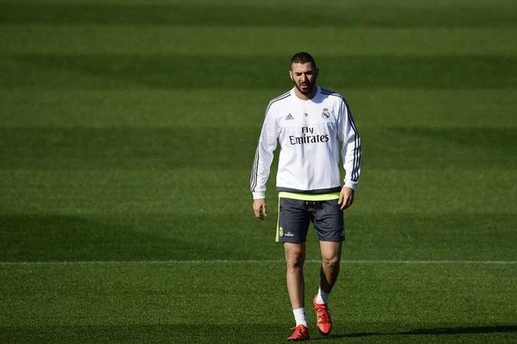 Karim Benzema se siente tranquilo por el caso de Valbuena y se enfoca en el Real Madrid. (Foto Prensa Libre: AFP)