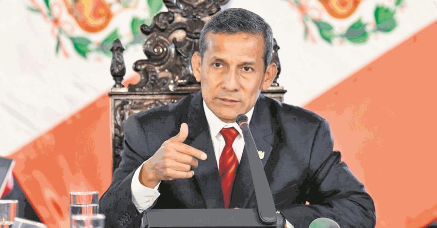 Ollanta Humala, expresidente de Perú, será también investigado por la Fiscalía de su país. (Foto Hemeroteca PL).