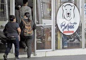 La Panadería Berna, por la que se generó polémica el martes, les fue programada una audiencia en marzo. (Foto Prensa Libre: Carlos Hernández)