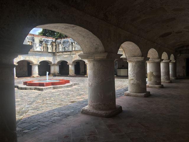 En la plaza central del convento habrán quioscos de exposición y venta. (Foto Prensa Libre: Cortesía Anita Lara)