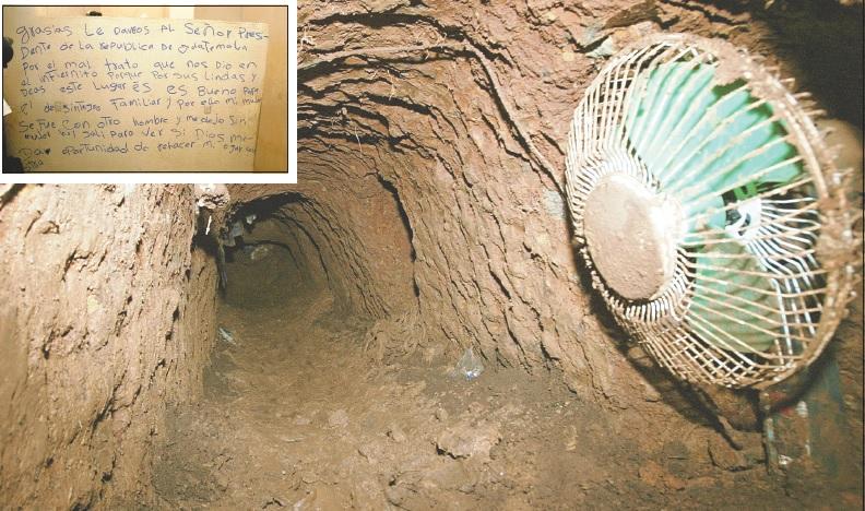 El 22 de octubre del 2005, 19 reos escaparon de la cárcel El Infiernito por medio de un túnel. (Foto Prensa Libre: Hemeroteca PL)