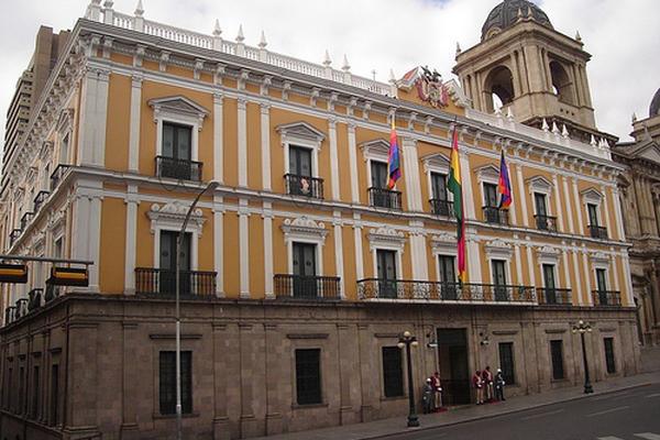 <p>Casa de Gobierno de Bolivia. (Foto Prensa Libre: tomada de Flickr)<br></p>