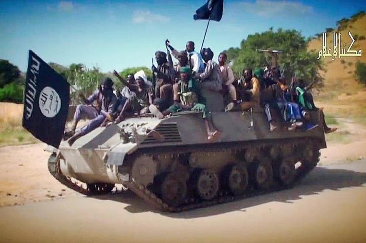 Integrantes del grupo Boko Haram aumenta su prensencia en Nigeria. (Foto Prensa Libre:AFP).