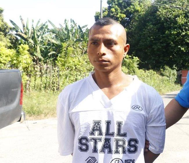 López Cua es sindicado de haber matado a su conviviente en junio del 2015 en Santa Cruz Muluá. (Foto Prensa Libre: Rolando Miranda)