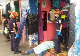 El ataque se perpetró en la zona 11 dentro del mercado El Guarda.