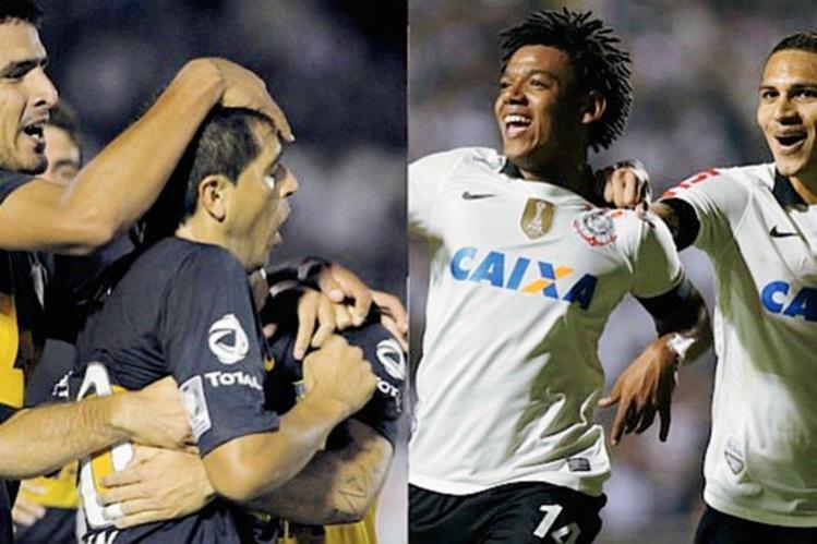 El partido que exigen que se investigue es entre Boca Juniors y Corinthians, ganó el equipo argentino. (Foto Prensa Libre: Hemeroteca PL)