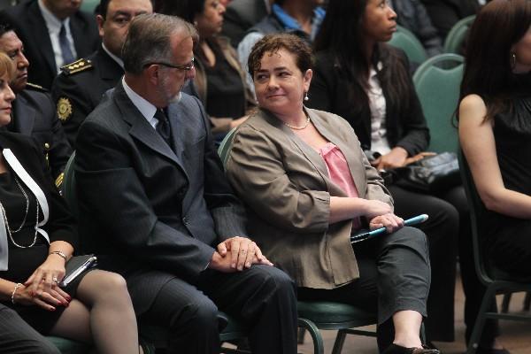 """<p>Iván Velásquez, jefe de la Cicig, junto a Claudia Paz y Paz, fiscal general del Ministerio Público (Foto Prensa Libre: E. García)<br _mce_bogus=""""1""""></p>"""