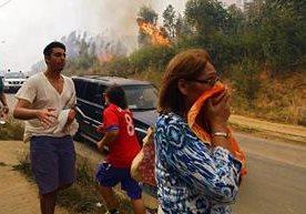 Los peores incendios en la historia del país.