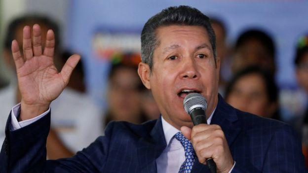 Henri Falcón es uno de los precandidatos de una oposición que aún debe definir su estrategia. REUTERS