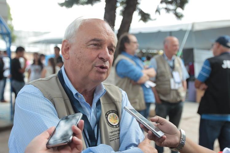 La Misión de Observación Electoral de la OEA a cargo de Juan Pablo Corlazzoli ya se desplaza a la provincia. (Foto Prensa Libre: Hemeroteca PL)