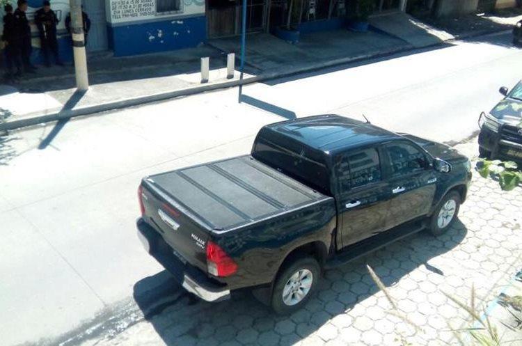 En el lugar del ataque se hallaron unos 14 casquillos, documentos y ropa. (Foto Prensa Libre: Hemeroteca PL)