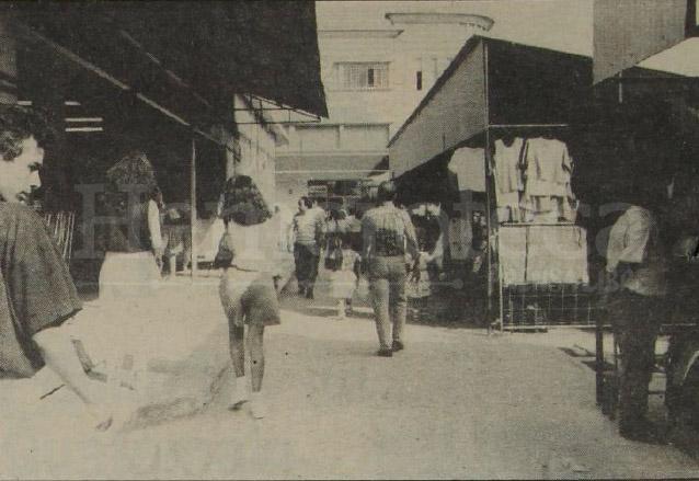 Los vendedores fueron ubicados en puestos techados. (Foto: Hemeroteca PL)