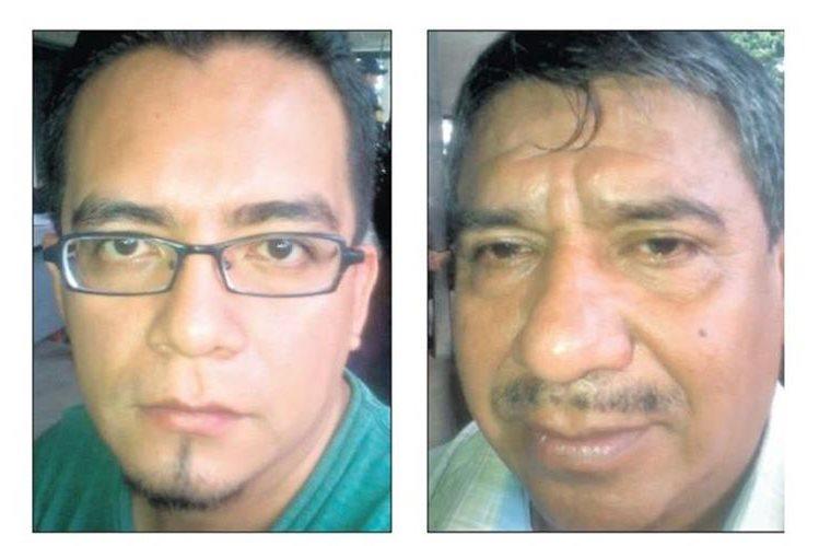 Darwin Ochoa Enríquez fue aprehendido en Malacatán; José Batz Canastuj también fue detenido en San Marcos. (Foto Prensa Libre: PNC)