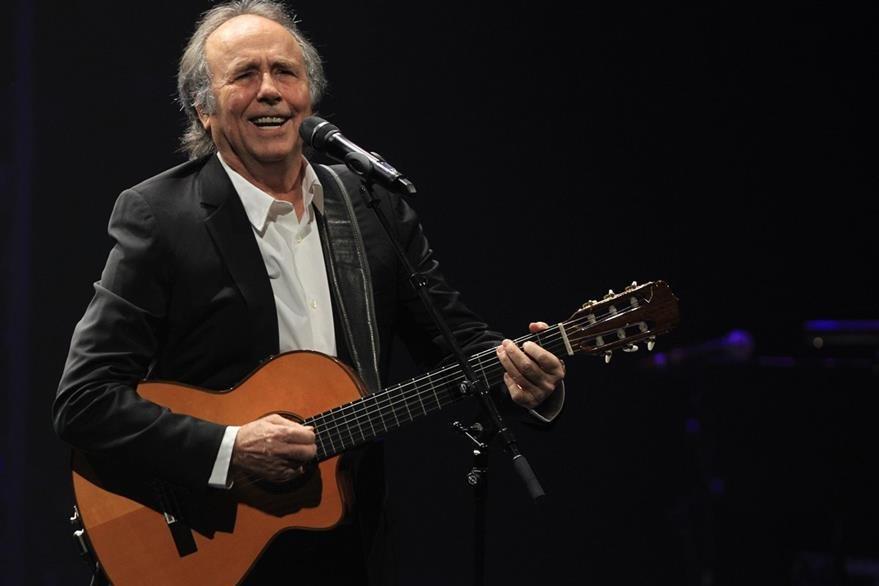 Cantautor y poeta español Joan Manuel Serrat. (Foto Prensa Libre: EFE).