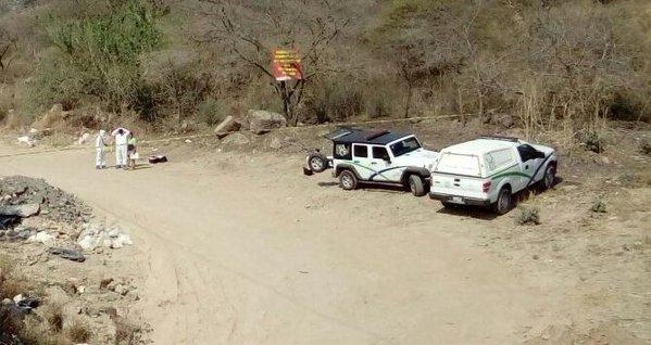 Los cuatro cadáveres fueron localizados en Tonalá. (Foto Twitter/@Eloy_Arellano).