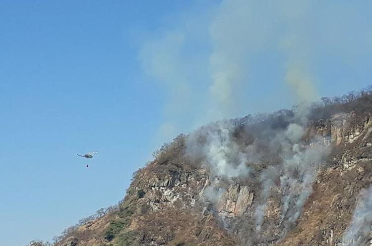 Más de mil 800 hectáreas afectadas por incendios