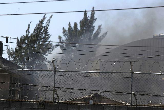 Un incendio fue provocado por los internos de Gaviotas.