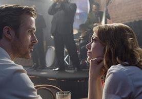 La La Land es protagonizada por Ryan Gosling y Emma Stone. (Foto: Hemeroteca PL).