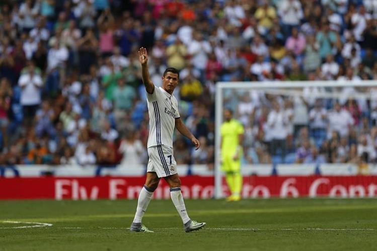 Cristiano se encuentra motivado luego de su regreso a las canchas. (Foto Prensa Libre: AP)