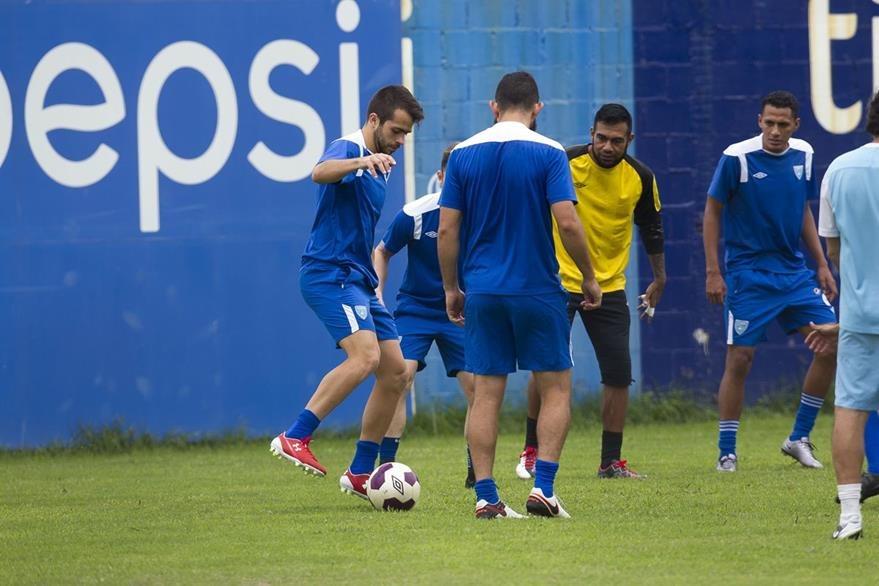 Guatemala se prepara para el partido contra San Vicente del próximo martes. (Foto Prensa Libre: Norvin Mendoza)