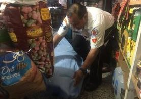 La víctima tenía 15 días de haber llegado a la capital en busca de empleo. (Foto Prensa Libre: Bomberos Voluntarios)