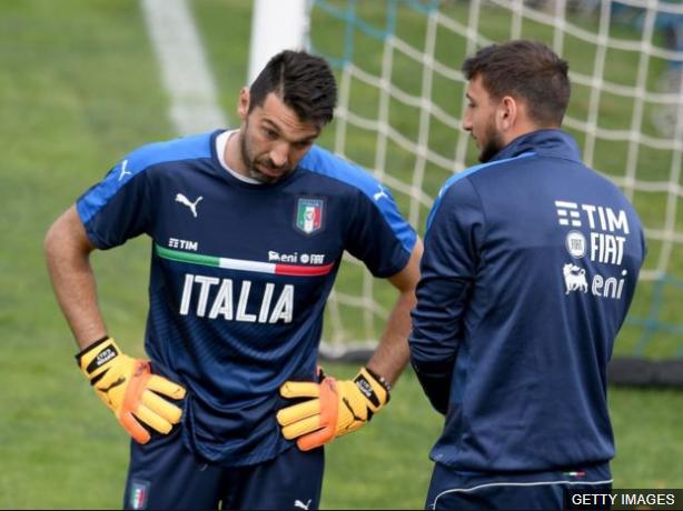 Ya muchos analistas declaran a Donnarumma como el reemplazo de Gianluigi Buffon.